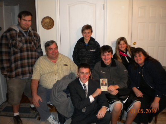Brickey Family (Minus Jake ) He is in the little picture. Serving in New Jersey