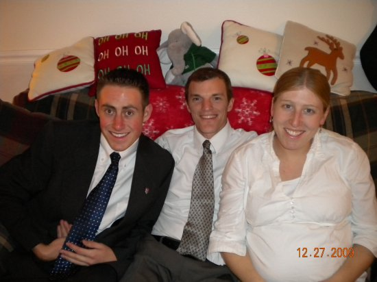 Elder Hale with Brother in Law Abe and sister Alison