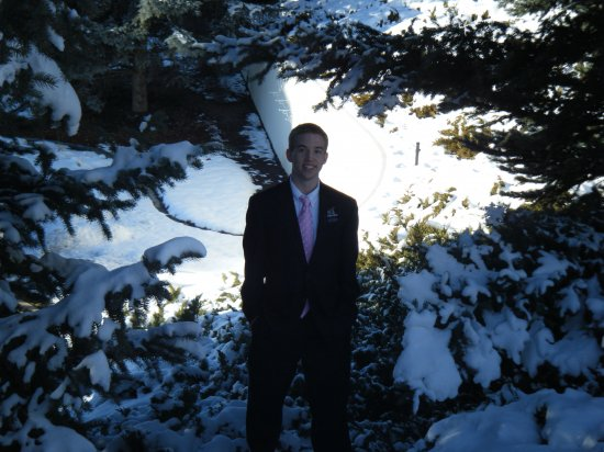 Elder Farley -  Provo Temple Grounds