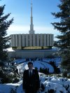 Elder Palmer - Provo temple and Missionaries visiting