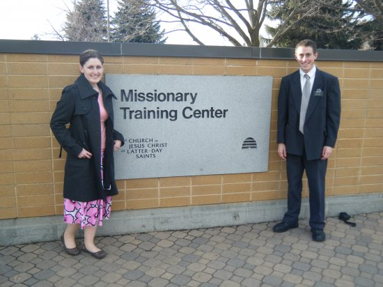 Sister Britney Banks * Elder Johnathn Hale - COUSINS  - going to the same Mission!!!
