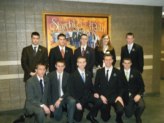 MTC District with Teacher Sister Leatham
