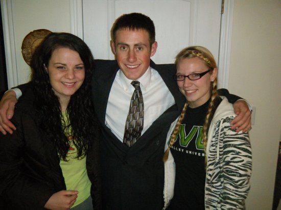 Megan Johnny & Charity - Night before MTC -