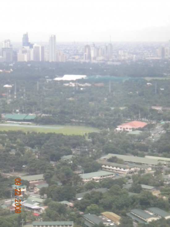 Manila from a Plane