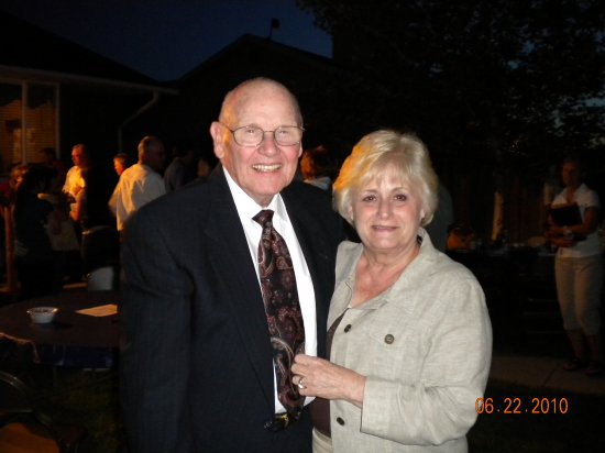 Brother & Sis Breese - Mission Office Couple as of August 2010 at Elder Hale's home.