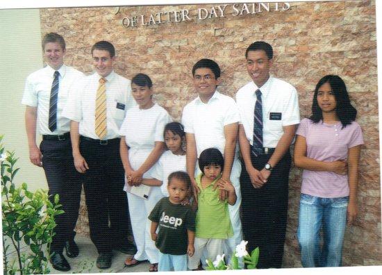 Tobiagon Family Baptism - Lagawe - Elders Kelson, Hale, Apin, Daquioag