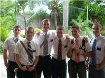 The MTC Batch in the Philippines - Ward , Hardman, Dahlin, Hale, Riner, Farley