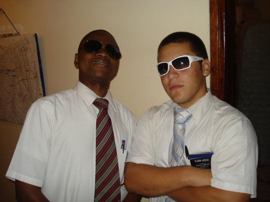 Elder Guente and Elder Astle, two cool Elders!