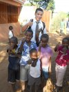 Elder Astle with some happy kids