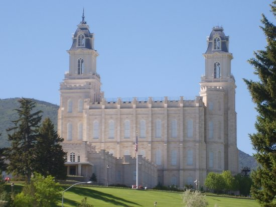 Manti Temple (getting ready for my mission: 09/09/2010)