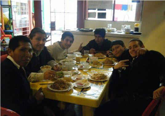 Dinner Time in Peru