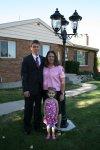 Taylor, Mom and niece Olivja